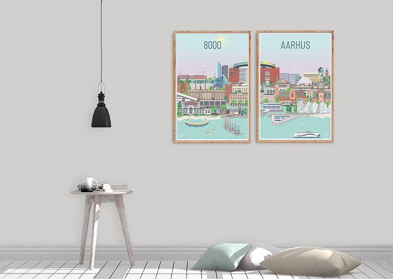 Aarhus Plakater Egetrae 11