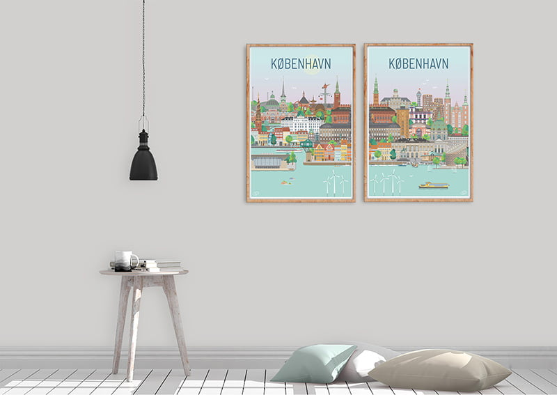 Koebenhavn Plakater Egetrae 11 1