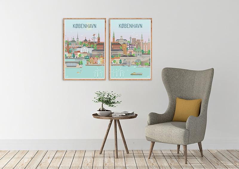 Koebenhavn Plakater Egetrae 12 1