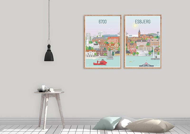 Esbjerg Plakater Egetrae 11 1
