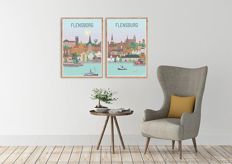 Flensborg Plakater Egetrae 12