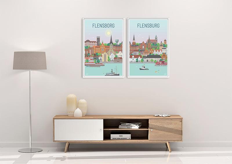 Flensborg Plakater Hvid 23 1