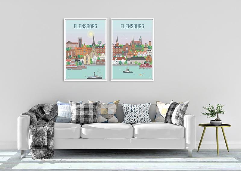 Flensborg Plakater Hvid 24 1