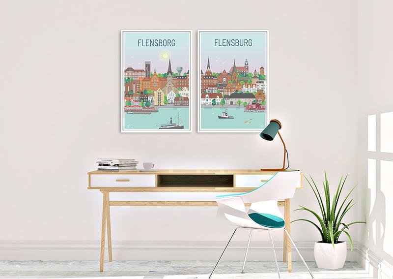 Flensborg Plakater Hvid 25