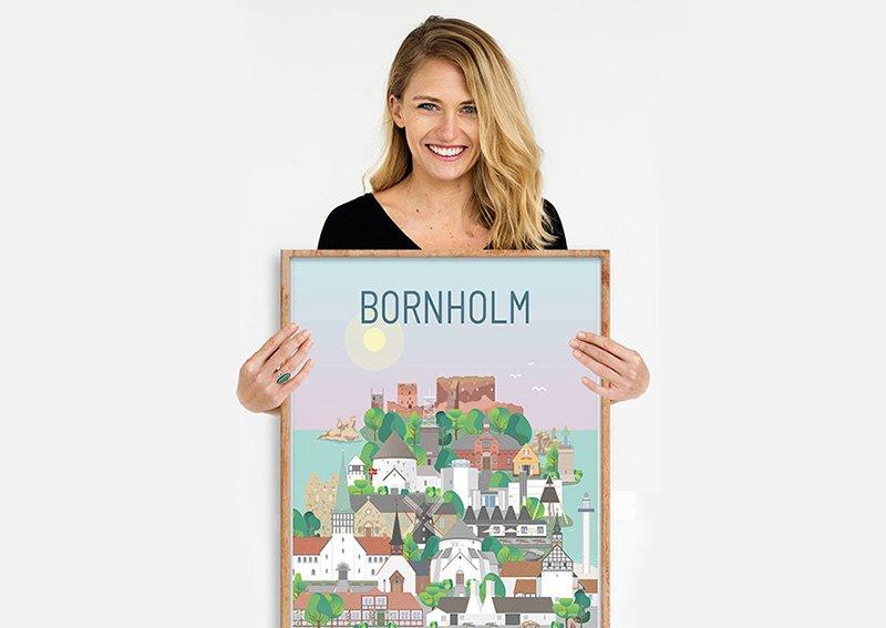 Bornholm Plakat Egetrae 03