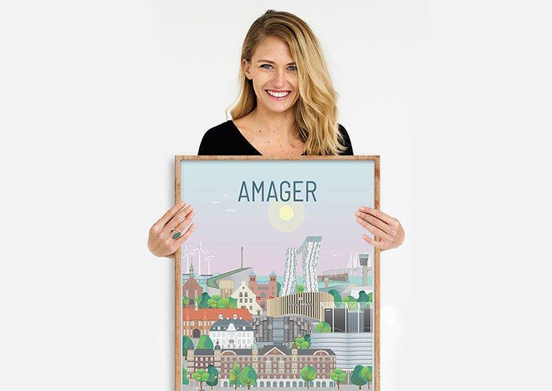 Amager Plakat Egetrae 03