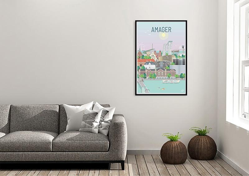 Amager Plakat Sort 01 1