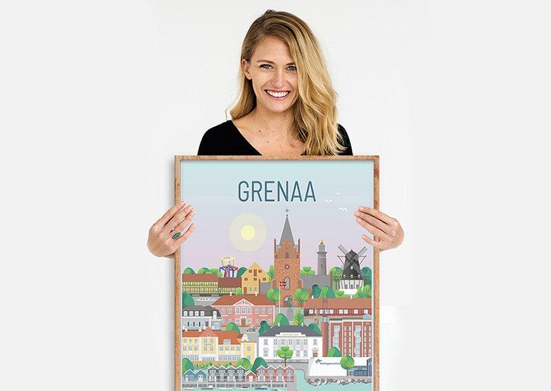 Grenaa Plakat Egetrae 03