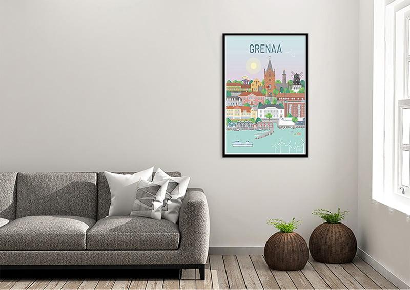 Grenaa Plakat Sort 01 1