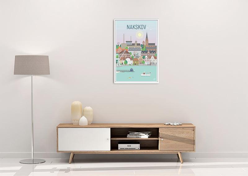 Nakskov Plakat Hvid 23 1