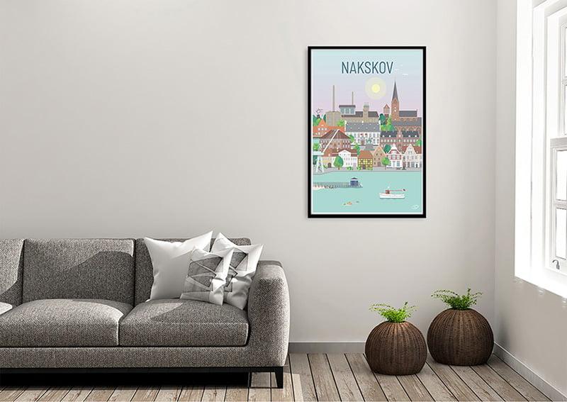 Nakskov Plakat Sort 01 1